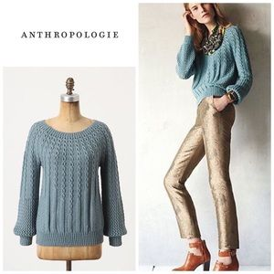 Anthropologie Purl-wise pullover
